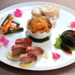 五種類の冷菜盛り合わせ
